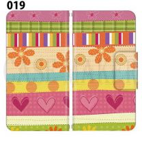Apple Smartphone Case Premium Notebook Type S Size / M Size / L Size 3 Type General Purpose Sliding Cover 30 Design Made in Japan / Cute and cute' 019