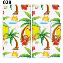 Apple Smartphone Case Premium Notebook Type S Size / M Size / L Size 3 Type General Purpose Sliding Cover 30 Design Made in Japan /Summer  Beach Hawaii'028