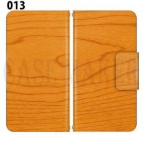 Apple Smartphone Case Premium Notebook Type S Size / M Size / L Size 3 Type General Purpose Sliding Cover 30 Design Made in Japan / WOOD ' 013