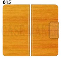 Apple Smartphone Case Premium Notebook Type S Size / M Size / L Size 3 Type General Purpose Sliding Cover 30 Design Made in Japan / WOOD ' 015
