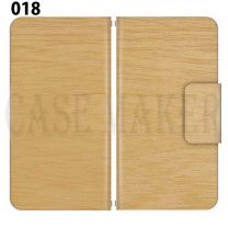 Apple Smartphone Case Premium Notebook Type S Size / M Size / L Size 3 Type General Purpose Sliding Cover 30 Design Made in Japan / WOOD ' 018
